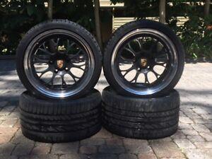 Porsche Inesis 3 piece wheels and tires