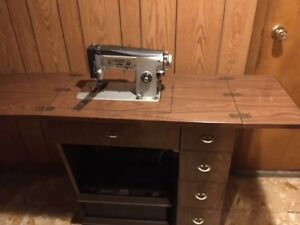 Sewing Machine with Cabinet for Sale - Hamilton