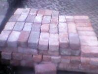 Reclaimed victorian handmade bricks