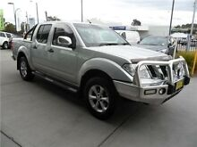2012 Nissan Navara D40 S5 MY12 ST-X 550 Silver 7 Speed Sports Automatic Utility Telarah Maitland Area Preview