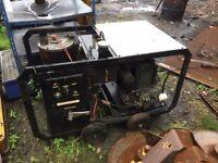 dirt driver hot diesel pressure washer kubota engine