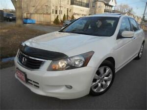 2010 Honda Accord Sedan EX-L 190 kms S.Roof, Leather $6995