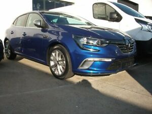2017 Renault Megane BFB GT-Line EDC Blue 7 Speed Sports Automatic Dual Clutch Hatchback Seaford Frankston Area Preview