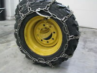 Skid Steer Tire Chains
