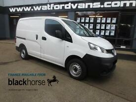 2013 Nissan NV200 1.5DCi SE Twin SLD E/Pack 25,000Miles Diesel white Manual