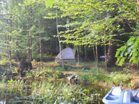 Private Countryside Tent Camping