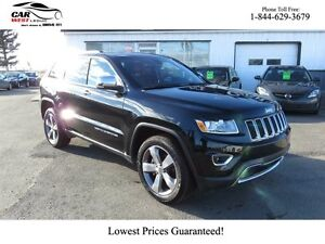 2015 Jeep Grand Cherokee Limited 4x4 ONLY 7800 KM!! PRICE DROP T