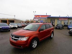 2010 DODGE JOURNEY SE 4 CYL GAS SAVER  LOW PRICE EASY FINANCE