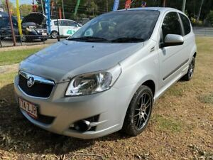 2009 Holden Barina TK MY09 Silver 5 Speed Manual Hatchback Clontarf Redcliffe Area Preview