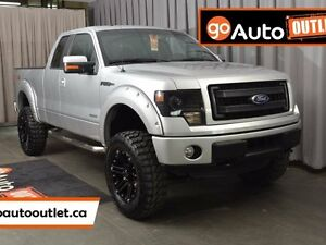 2014 Ford F-150 FX4 4x4 SuperCab 6.5 ft. box 145 in. WB