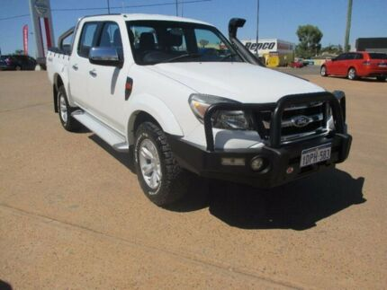 2011 Ford Ranger PK XLT Crew Cab White 5 Speed Manual Utility