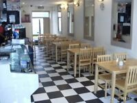 Cafe, NIL PREMIUM , lock up daytime premises, fully fitted, prime location Southampton city centre