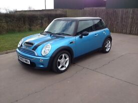 Mini Cooper 114k miles, full mot. lady owner, clean car.