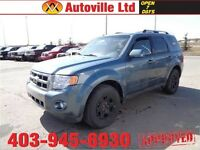 2011 FORD ESCAPE 4WD LIMITED LEATHER ROOF B-CAM $13988