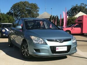 2010 Hyundai i30 FD MY10 SX Blue 4 Speed Automatic Hatchback South Toowoomba Toowoomba City Preview