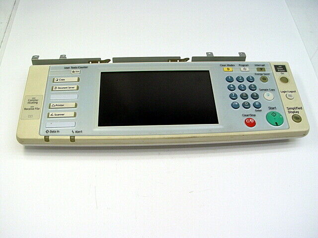 Ricoh Aficio MP 3500/4500 MFP Control Panel Display, R716-55