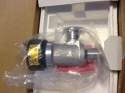 Vacuum Angle Valve Dn 25 Vat Hv