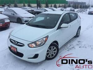 2013 Hyundai Accent GL | WOW only $30 Weekly $0 Down *OAC / Auto