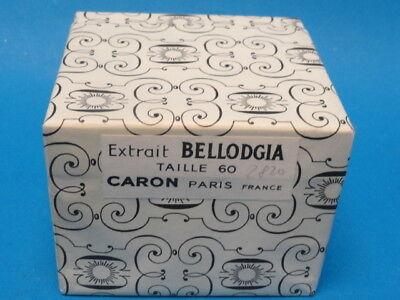 Bellodgia Extrait Taille 60 CARON Perfume * SEALED