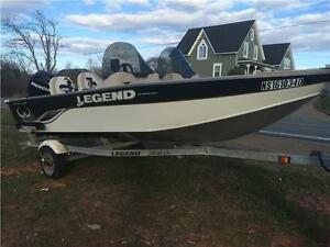 2009 Legend 16 Xcite with 40 4 stroke Mercury, low hours