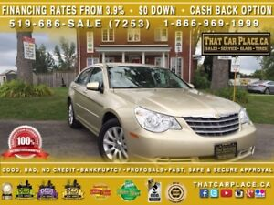 2010 Chrysler Sebring Touring|$54/Wk|LOW KM!Pwr Windows,Locks,Mi
