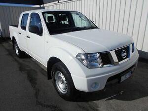 2011 Nissan Navara D40 MY11 RX (4x4) Polar White 6 Speed Manual Dual Cab Pick-up South Burnie Burnie Area Preview