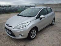**Ford Fiesta 1.25 petrol 2012 5 Doors** Breaking For Spares and parts ,silver ,26000 miles engine.