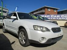2004 Subaru Outback B4A MY05 R AWD Premium Pack White 5 Speed Sports Automatic Wagon Greenslopes Brisbane South West Preview