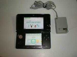 *****BLACK NINTENDO 3DS NOIR + JEUX/GAMES(MARIO, LUIGI, KIRBY, ZELDA, POKEMON, DONKEY KONG, LEGO) A VENDRE/FOR SALE*****