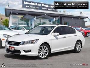 2015 HONDA ACCORD TOURING |NAV|ROOF|PHONE|LEATHER|CAMERA|SIDECAM