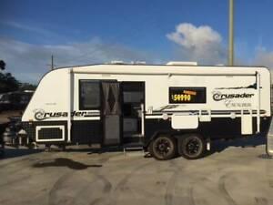 2014 CRUSADER EXCALIBER X-COUNTRY CARAVAN 22' Heatherbrae Port Stephens Area Preview