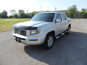2007 Honda Ridgeline EXL w/moonroof, 4X4 only 194,000km