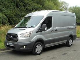 2014(14) FORD TRANSIT TREND MWB 125 290 L2H2, MK 8, SILVER, FINANCE AVAILABLE