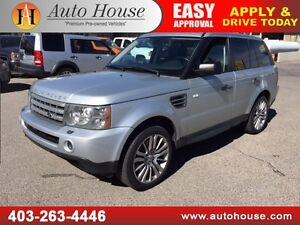 2009 RANGE ROVER SPORT SUPERCHARGED 2 DVD SCREENS NAVIGATION