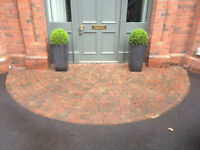 Tobermore Tegula Paving Setts - 5m2 Approx with Half Circle - Local Delivery Possible.