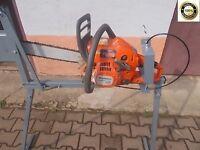 Log Saw Bench Log Saw Horse Holder Sawing Log Homemade Log Holder for Chainsaw