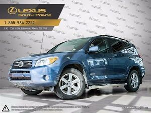 2008 Toyota Rav4 Limited Standard package