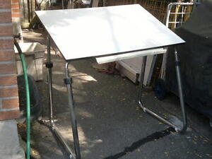 """STAEDTLER Drafting Table 31""""x 42"""" For Sale $80."""
