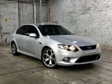 2010 Ford Falcon FG XR6 50th Anniversary Silver 6 Speed Sports Automatic Sedan Mile End South West Torrens Area Preview