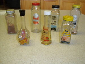 7 Spice and Flavor bottles