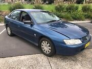 2002 Holden Commodore VY Executive Blue 4 Speed Automatic Sedan Lisarow Gosford Area Preview