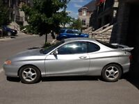 2000 Hyundai Tiburon SE Coupe LOW LOW kms.