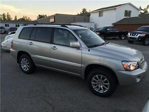 2005 TOYOTA HIGHLANDER 4WD 7SEAT  LEATHER CERTIFIED&E-TEST London Ontario image 2