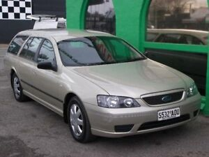 2005 Ford Falcon BF XT Gold 4 Speed Sports Automatic Wagon