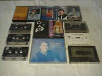 Country and irish tape cassettes