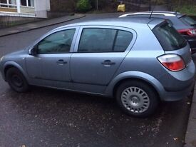 Vauxhall astra (reduced Price)