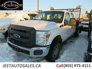2015 Ford Super Duty F-350 SRW XL Crew Cab Flat Deck Truck
