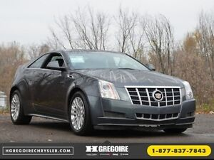2012 Cadillac CTS Coupe AWD CUIR SPORT AUTO BLUETOOTH