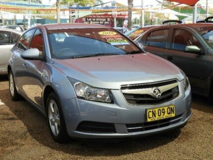 2010 Holden Cruze JG CD Blue 5 Speed Manual Sedan Colyton Penrith Area Preview