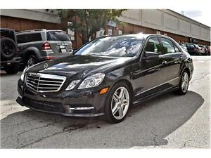2013 Mercedes-Benz E-Class E550 4MATIC, DISTRONIC, NIGHT VISION